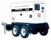 Power Up Generator of Auburn, NH rents, sells and maintains MQ Power DCA-150JSJ to contractors in New Hampshire, Maine, Massachusetts, Connecticut, Vermont and Massachusetts