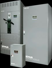 Power Up Generator of Auburn, NH rents, sells and maintains Kohler Transfer Switches / KBL to contractors in New Hampshire, Maine, Massachusetts, Connecticut, Vermont and Massachusetts